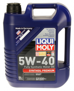 Liqui Moly 5w40 Synthoil
